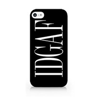 IDGAF - I Don't Give A Fuck - Funny Quotes - Sassy Quotes - Hipster - Swag - iPhone 6/6S Black Case (C) Andre Gift Shop