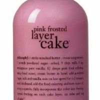 Philosophy Pink Frosted Layer Cake Shampoo/Shower Gel/Bubble Bath, 16 Ounces