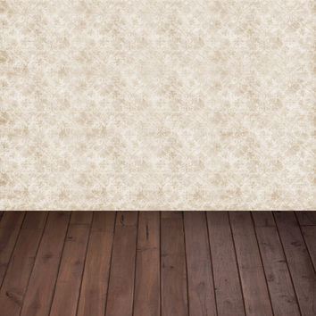 light color damask printed backdrops for photo Art fabric newborn deep brown backdrop for