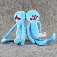 1pcs Rick and Morty Happy & Sad Mr. Meeseeks stuffed plush toy free shipping
