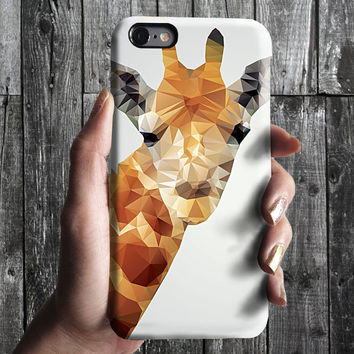 Geometric Polygon Triangle Giraffe iPhone 6/6S, 6 Plus Case 4S, 5S, Galaxy Cover. Mobile Phone Cell. Gift Idea. Birthday gift. For Him, Her