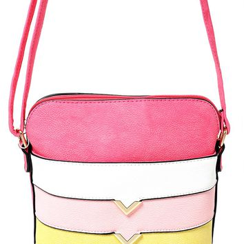 Color Block Mini Bag