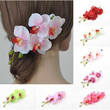Bohemia Style Flowers Hair Clips Hairpins for Women Hair Accessories for Beach Bride Hair Accessories  Wedding Hiar Accessories