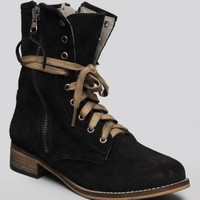 Hanna Combat Boot - Black - What's New | GYPSY WARRIOR