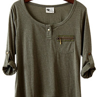 Perfect Shirt, Summer Sage (with Free Shipping)