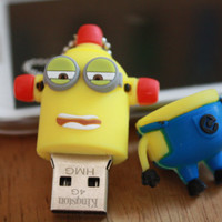 SALE30-70%OFF: 8GB Usb Minions Despicable Me Drive 8Gb , Cute Usb Flash Drive , Accessories , usb, Minions usb