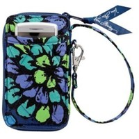 Vera Bradley All in One Wristlet in Indigo Pop