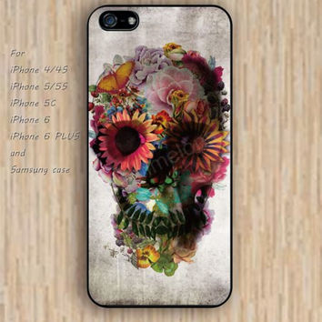 iPhone 5s 6 case skull characters flowers dream catcher colorful phone case iphone case,ipod case,samsung galaxy case available plastic rubber case waterproof B625