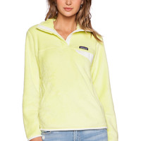 Patagonia Re-Tool Snap-T Pullover in Mayan Yellow X Dye