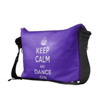 Keep Calm and Dance On Commuter Bags