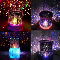 Cosmos Star Master Projector LED Night Light Lamp Sky Starry Novelty Kids Gift (Color: Blue) = 5987505793