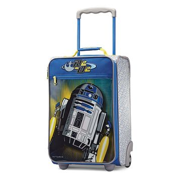 American Tourister Luggage, Star Wars R2D2 18-inch Upright Wheeled Luggage Case - Kids
