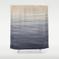 Empty Shower Curtain by Dena Brender Photography