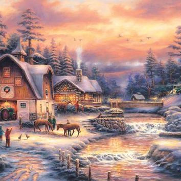 Country Holidays 500pc Jigsaw Puzzle