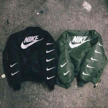 ONETOW ALPHA INDUSTRIES MA-1 BOMBER JACKET - NIKE