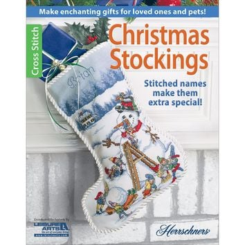 Leisure Arts-Christmas Stockings