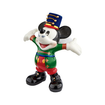 Disney Nutcracker Mickey By Design Department 56 Porcelain Figurine New with Box