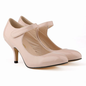 Hot Style Classic Shallow Patent Leather Shoes