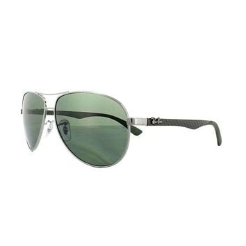 Kalete Ray-Ban Sunglasses 8313 004/N5 Gunmetal Grey Polarized 61mm Large