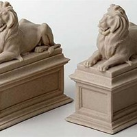 New York Public Library Lions Bookends 7H