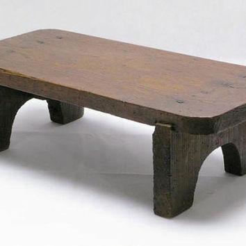 Wooden Footstool, French Footstool, Stool, Plant Table, Decorated Footstool, Small French Table 1930s(3478)