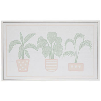 Potted Palms Wood Wall Decor | Hobby Lobby | 1776137