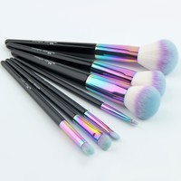 High Quality 7 pcs/set Professional Unicorn Makeup Brushes Set