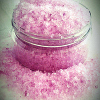 Lavender Vegan Bath Salts by StellaKenton on Etsy