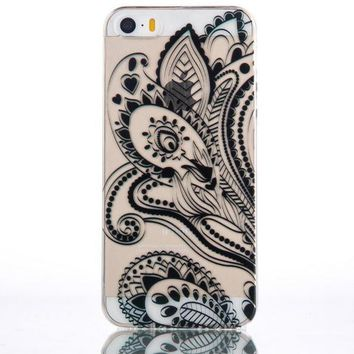 Flower iPhone 5s 6 6s Plus Case Cover + Free Gift Box-170928