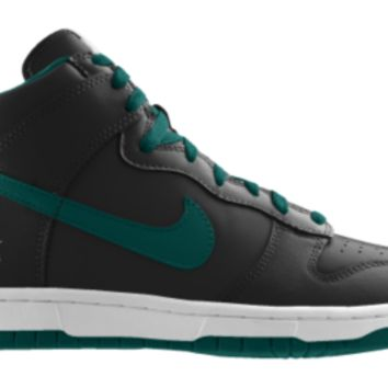 Nike Dunk High NFL Philadelphia Eagles iD Custom Kids' Shoes - Black