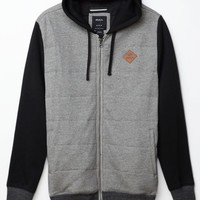 RVCA Gothard Quilt Jacket - Mens Hoodie - Gray