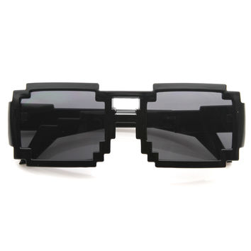 Nintendo Video Gamer Pixel Novelty Sunglasses 8573