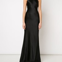 Calvin Klein Collection 'fawn' Evening Dress - The Webster - Farfetch.com