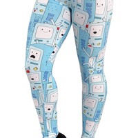 Adventure Time Beemo Leggings Design 344