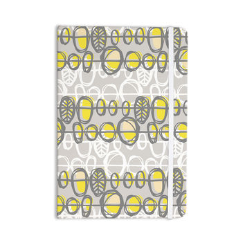 "Gill Eggleston ""Benin Yellow Grey"" Everything Notebook"