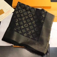 Louis Vuitton Women Scarf Shawl Silk Scarf-19