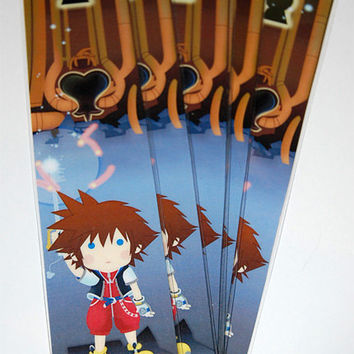 Kingdom Hearts 1 Sora Bookmark