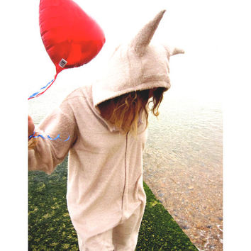Max costume - Max from Where the Wild Things Are fancy dress Onesuit - limited edition