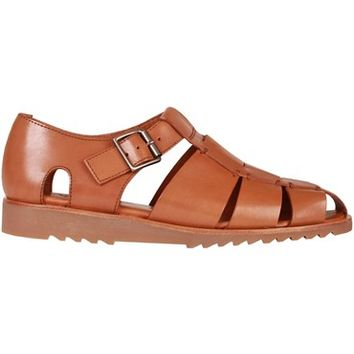 Paraboot Pacific Sport Miel-Lis Cognac Sandals Shoes 123303 | Pritchards