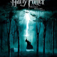 Harry Potter and the Deathly Hallows: Part I (UK) 11x17 Movie Poster (2010)