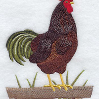 Rooster Towel Rhode Island Red Rooster