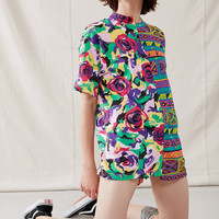 Urban Renewal Recycled Abstract Spliced Graphic Tee | Urban Outfitters