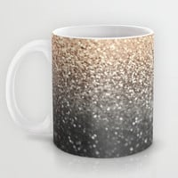 GATSBY BLACK GOLD Mug by Monika Strigel