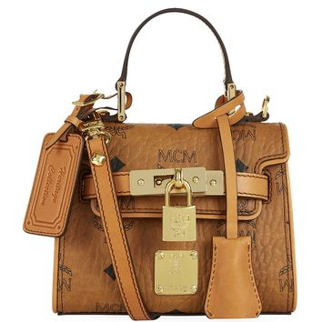 MCM Super Mini Heritage Satchel | Harrods