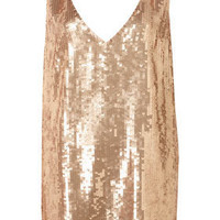 Oversize Sequin Dress by Dress Up Topshop** - Glam Underground  - Designers  Collections  - Topshop