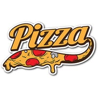 Delicious Pizza Sticker