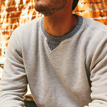 Ace Rivington | Homespun Sweatshirt (Oatmeal)
