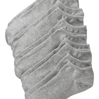 Old Navy Womens Liner Sock 5 Packs Size One Size - Heather gray