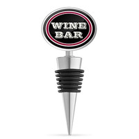 Wine Bar Bottle Stopper with Rubber Seal by Epic Products