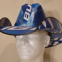 Beer Box Cowboy Hats Made from recycled Bud Light by BestBeerHats